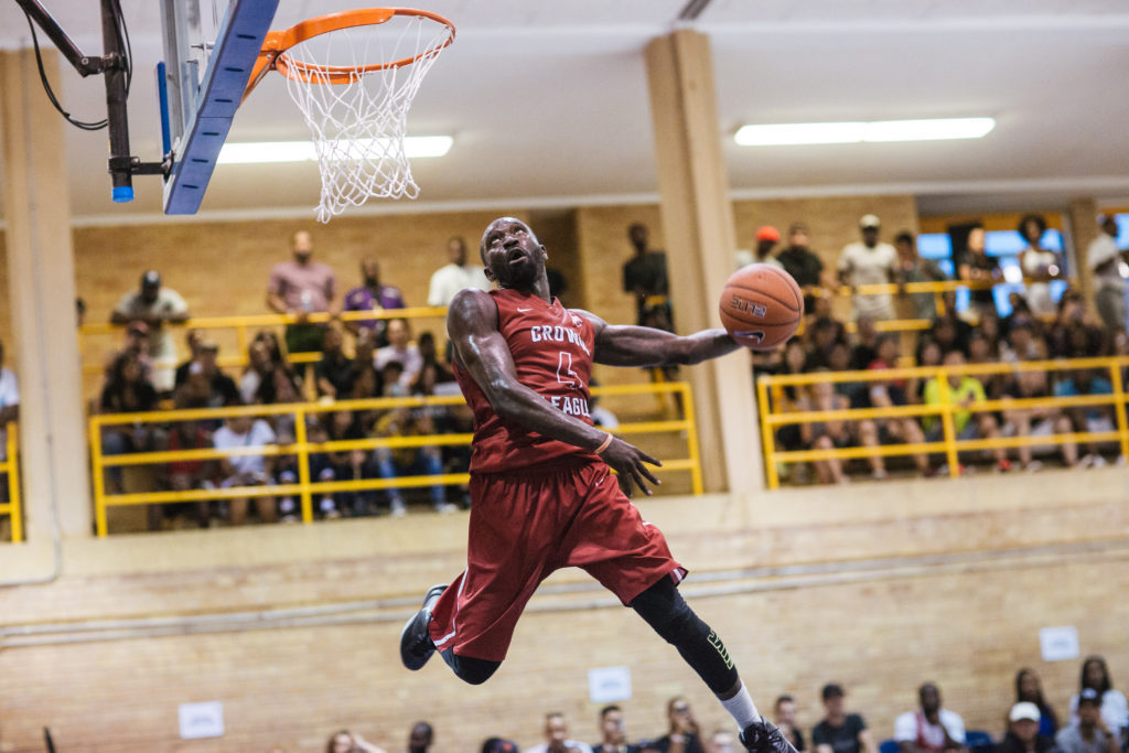 Crown League Six Teams Six Weeks One Crown Player Dunking