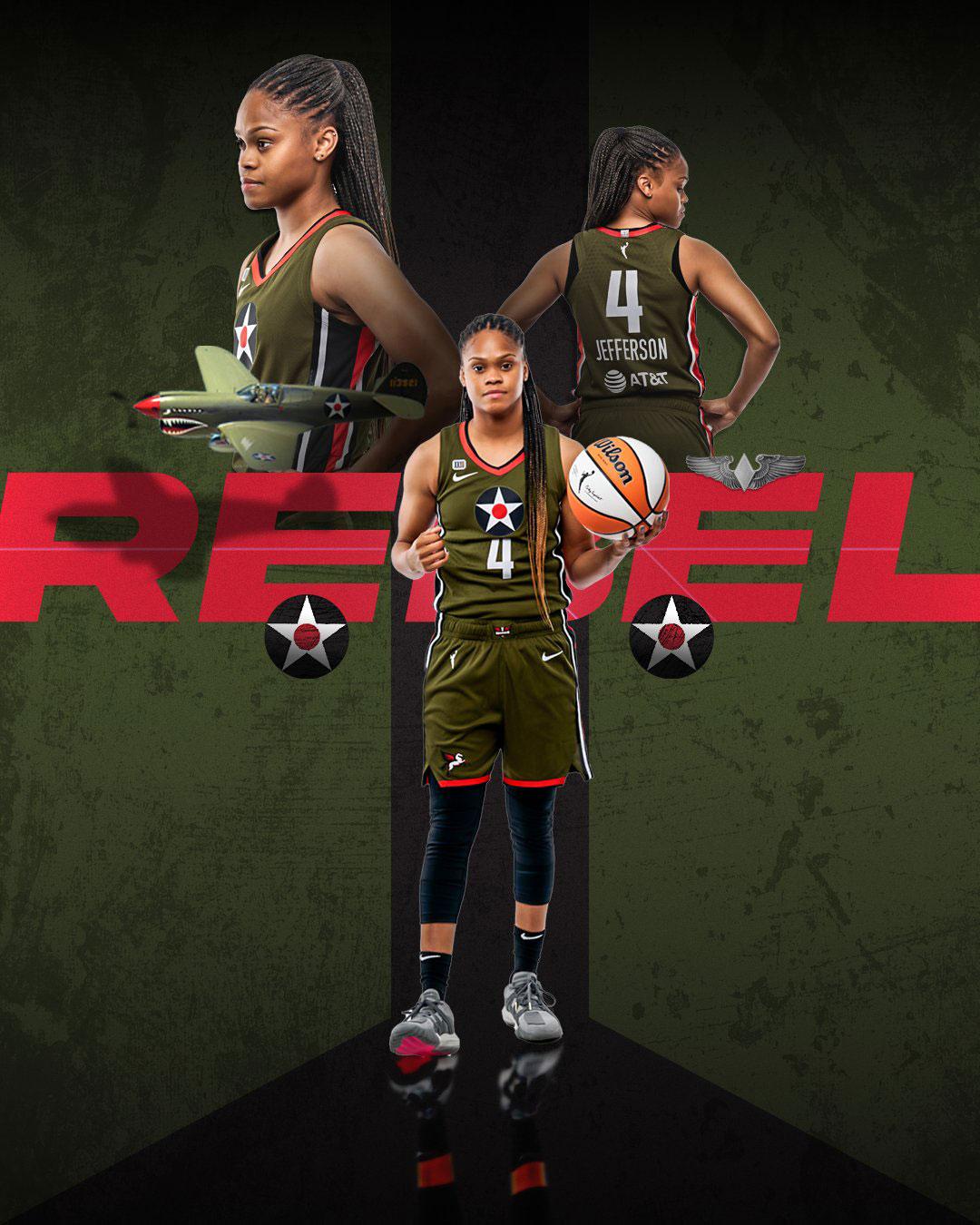 Dallas Wings Rebel Edition 2021 WNBA Jerseys