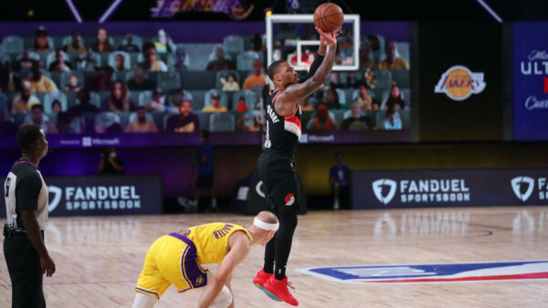 Damian Lillard and Portland Trail Blazers Blaze Lakers In Game One