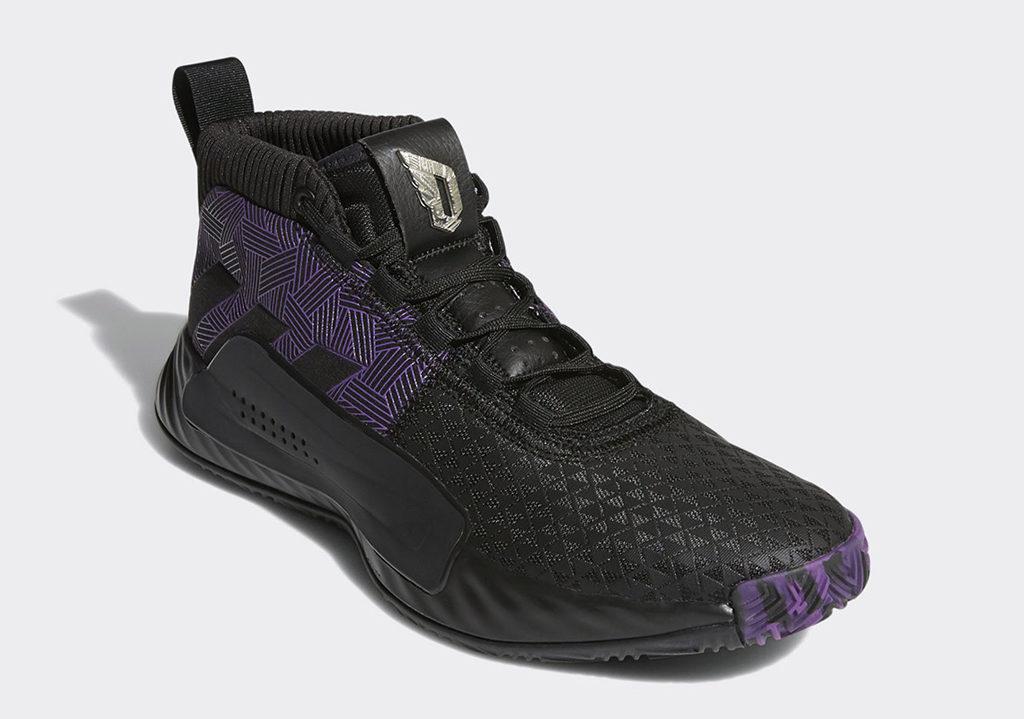 Damian Lillard Marvel Adidas Dame 5 Black Panther EF2259 4