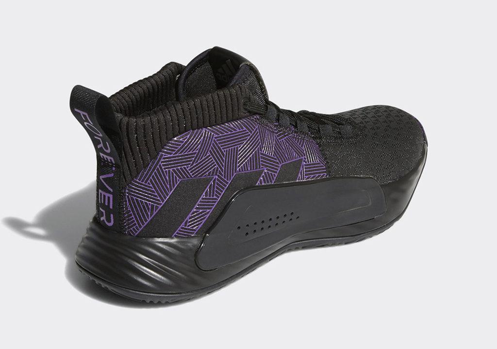 Damian Lillard Marvel Adidas Dame 5 Black Panther EF2259 5