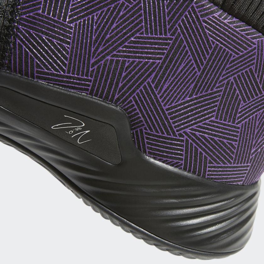 Damian Lillard Marvel Adidas Dame 5 Black Panther EF2259 8