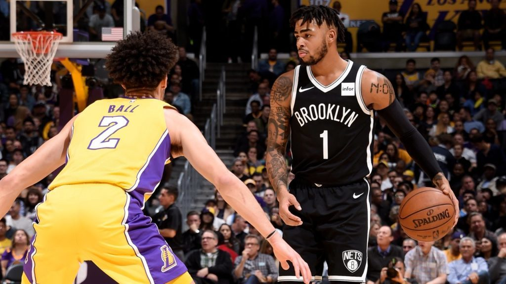 Dangelo Loads 17 7 7 Loss Lonzos Lakers
