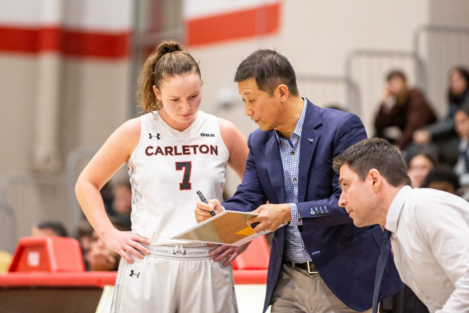 Great expectations: Carleton women's coach Dani Sinclair is ready to step up
