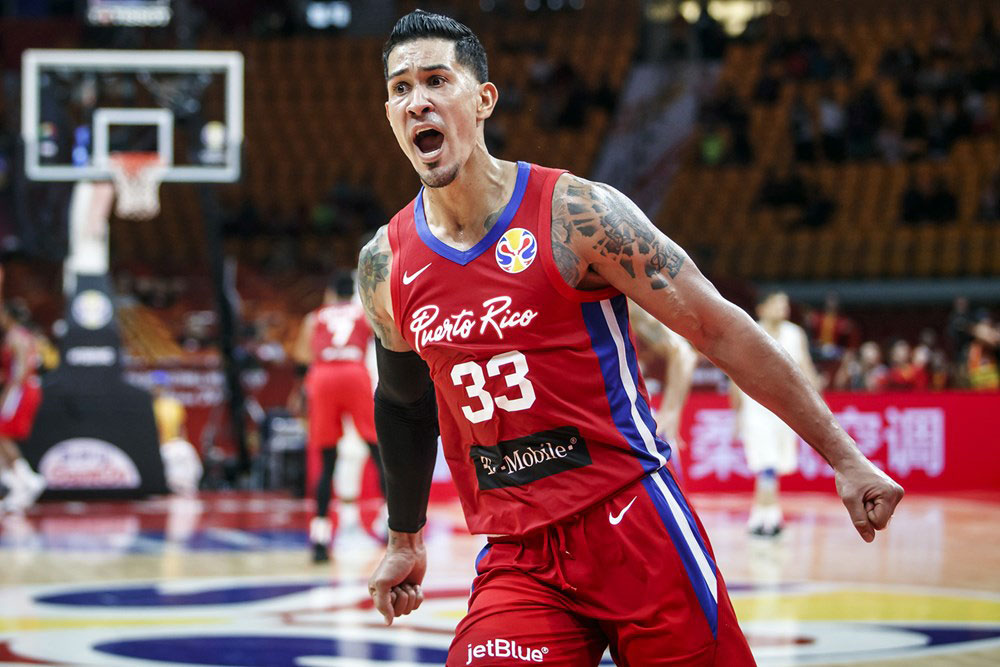 David Huertas Puerto Rico Beats Iran At The Buzzer To Kick 2019 Fiba World Cup