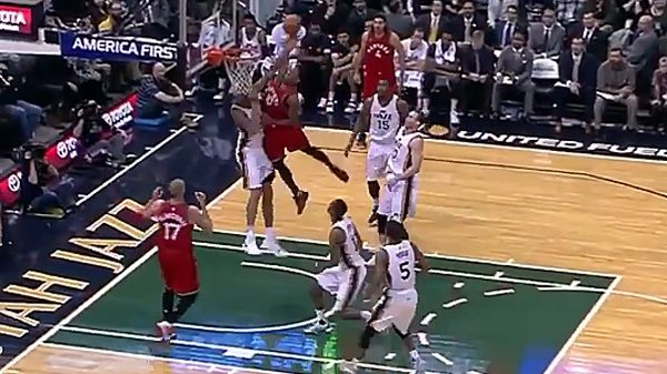 DeMar DeRozan throws down vicious, nasty dunk all over Rudy Gobert