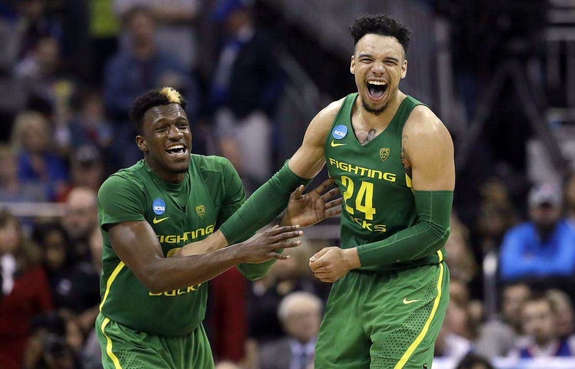 dillon brooks dylan ennis oregon ducks march madness