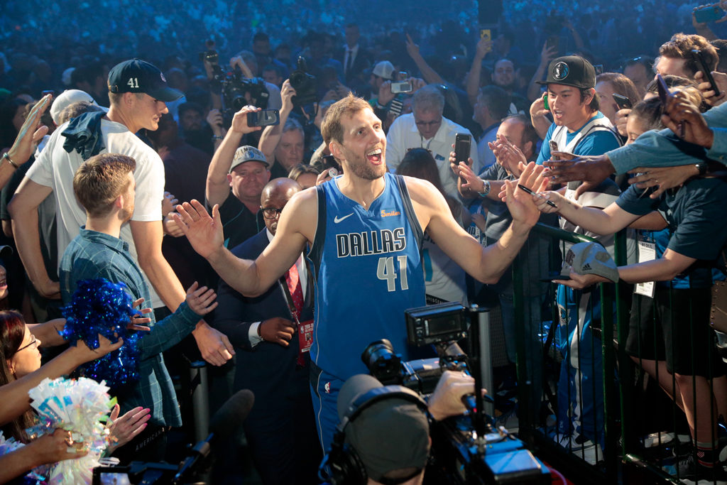 Dirk Nowitzki One Last Exit Dallas Mavericks Nba