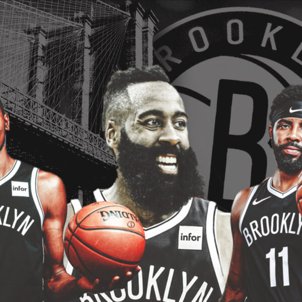 Do Brooklyn Nets James Harden Kevin Durant And Kyrie Irving Make The Biggest Three Ever