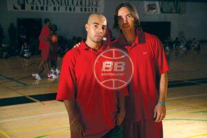 Edilson Silva With Steve Nash Timeout Basketballbuzz Magazine