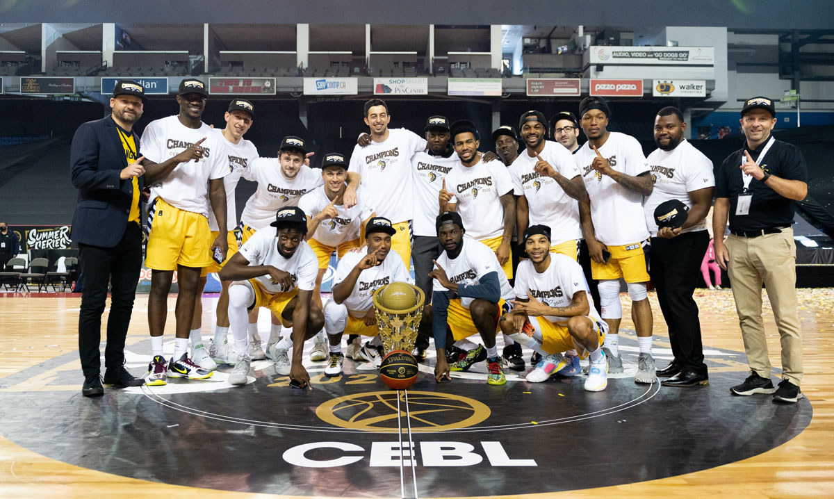 Edmonton Stingers 2020 Canadian Elite Basketball League (CEBL) Summer Series Champions