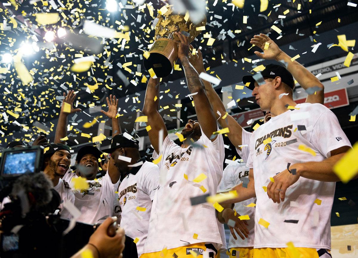 Edmonton Stingers Sting Fraser Valley Bandits Crowned 2020 CEBL Summer Series Champions