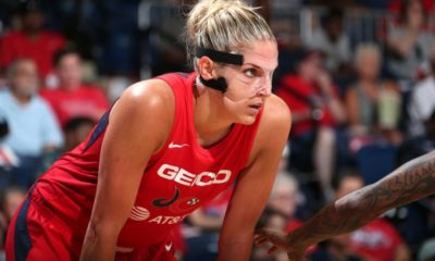 Elena Delle Donne With The Most Valuable Face Mask