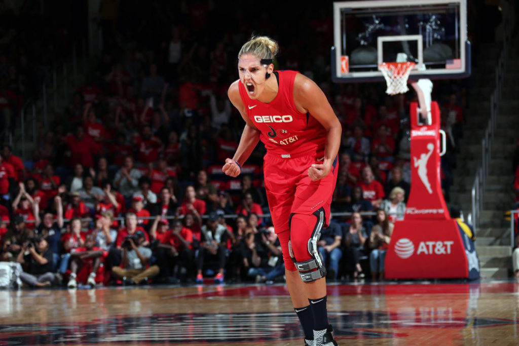 Elena Delle Donne With The Most Valuable Player 2019 Wnba