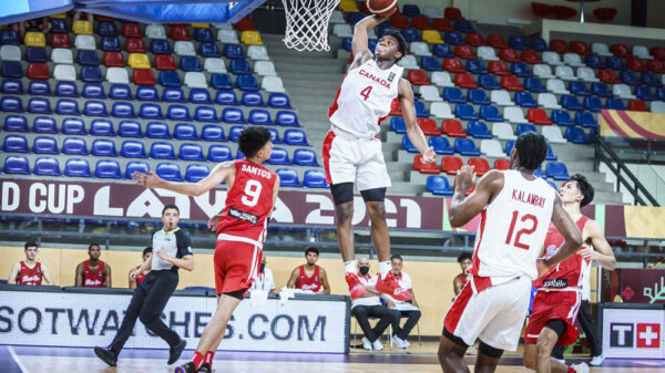 Elijah Fisher soars to new heights helps Canada cruise into 2021 FIBA U19 World Cup Quarter-Finals