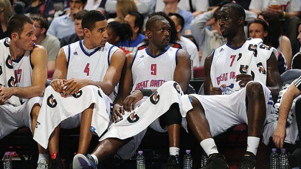 Team Great Britain Basketball 2010 FIBA Basketball