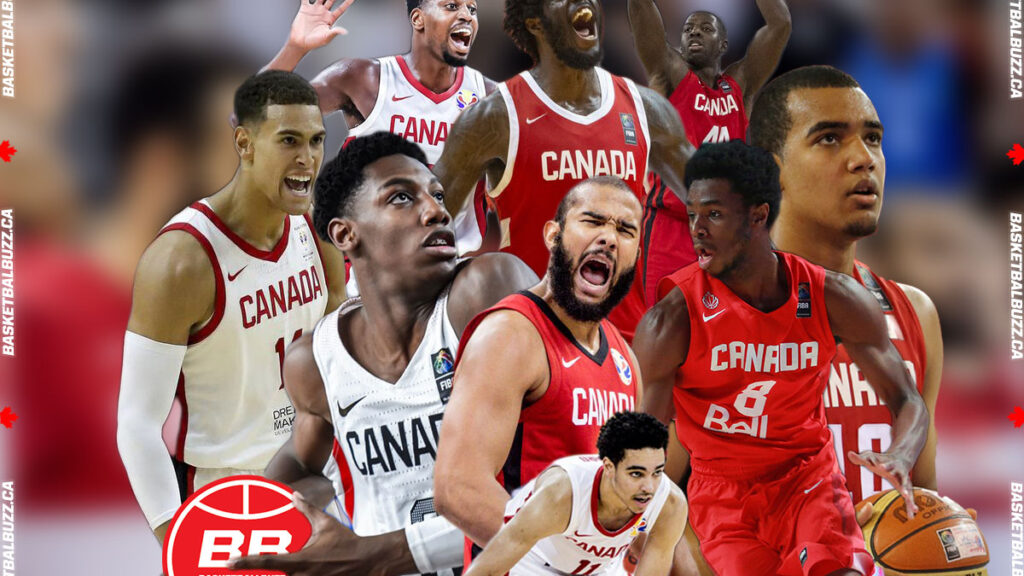 Melvin Ejim, Anthony Bennett, Andrew Nicholson, Dwight Powell, RJ Barrett, Cory Joseph, Andrew Wiggins, Trey Lyles, Andrew Nembhard and Team Canada kick-off 2020 FIBA Olympic Qualifying Tournament (OQT) training camp experienced and committed group of players.
