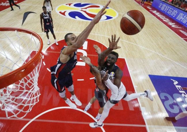 France Say Au Revoir To United States In Fiba World Cup