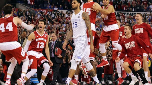 Frankly Only A Tank Could Stop Kentucky As Kaminsky's Wisconsin Roll Over The Wildcats