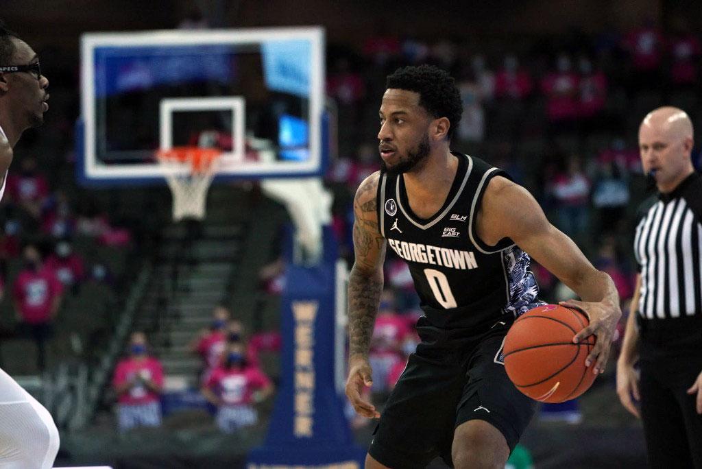 Georgetown Hoyas Canadian guard Jahvon Blair declares for 2021 NBA Draft