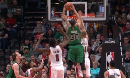 Gerald Green's Ruthless Two Hand Putback Slam On Mason Plumlee