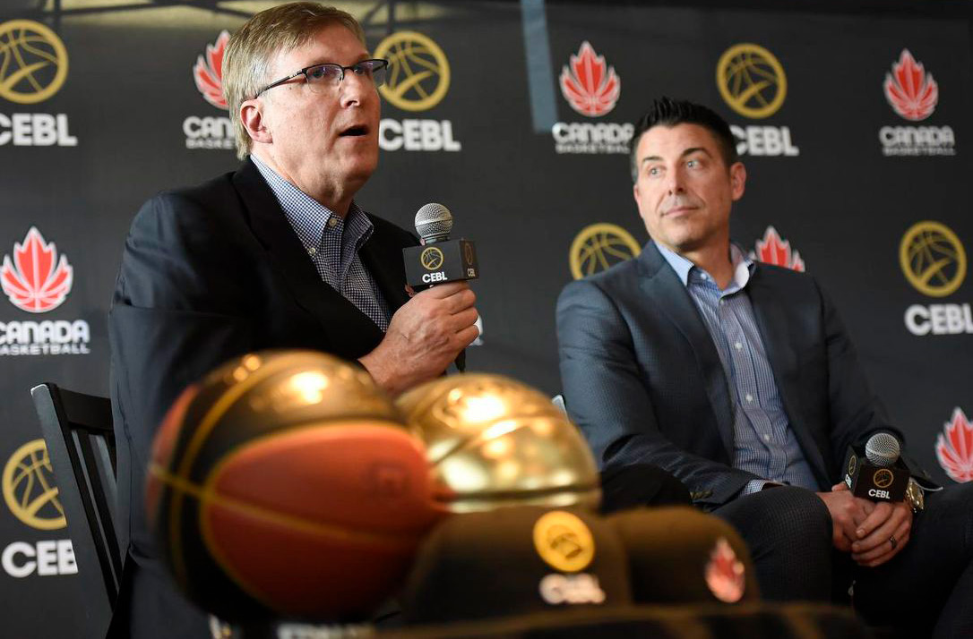 Glen Grunwald and Mike Morreale Canada Basketball And CEBL Proving To Be A Perfect Match