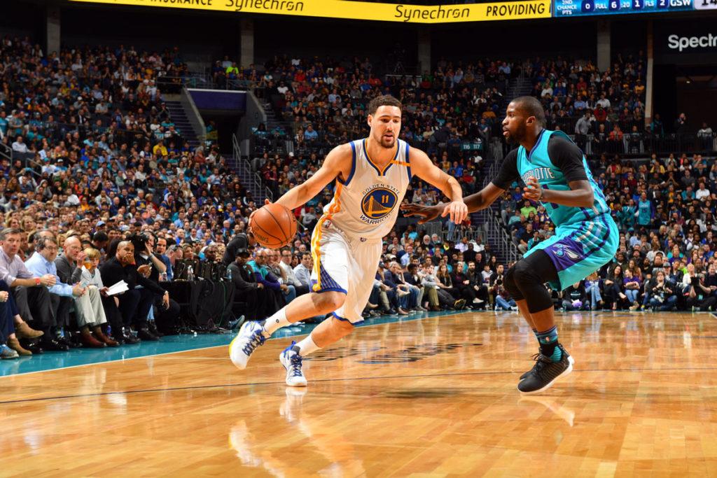 Golden State Warriors Take Buzz Charlotte Hornets