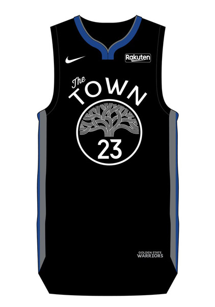 golden state warriors the town city edition jerseys combo 2019 2020