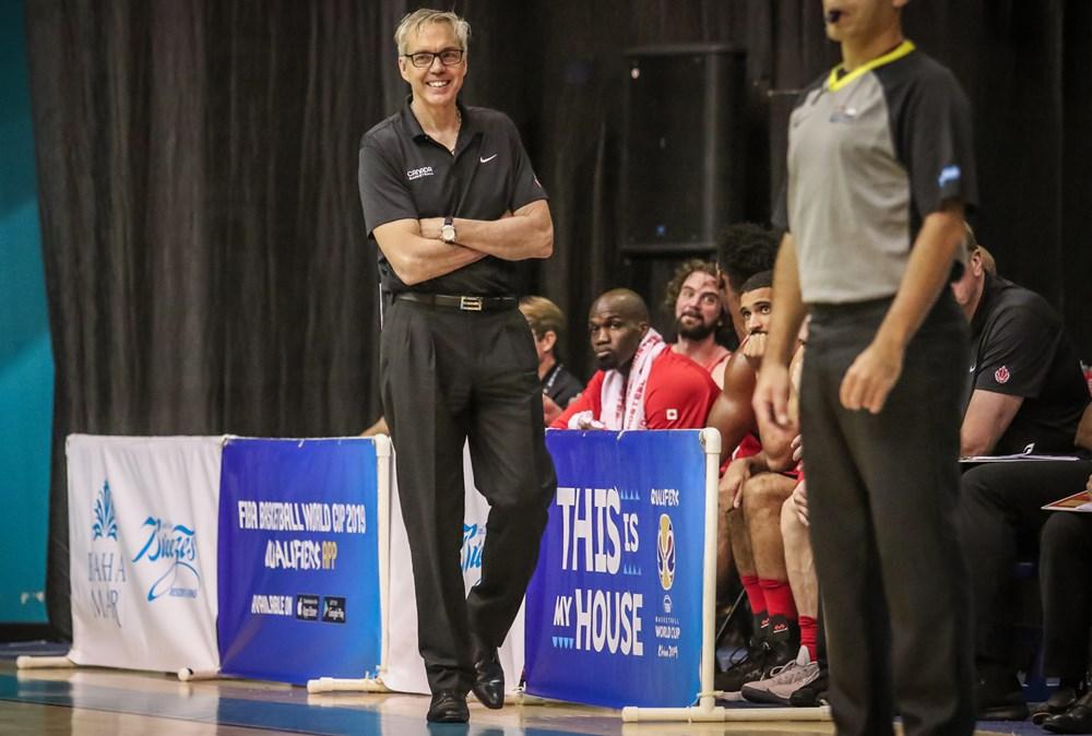 Gordie Herbert Canada Basketball Associate Head Coach