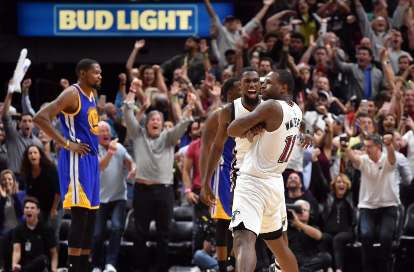 NBA Golden State Warriors At Miami Heat