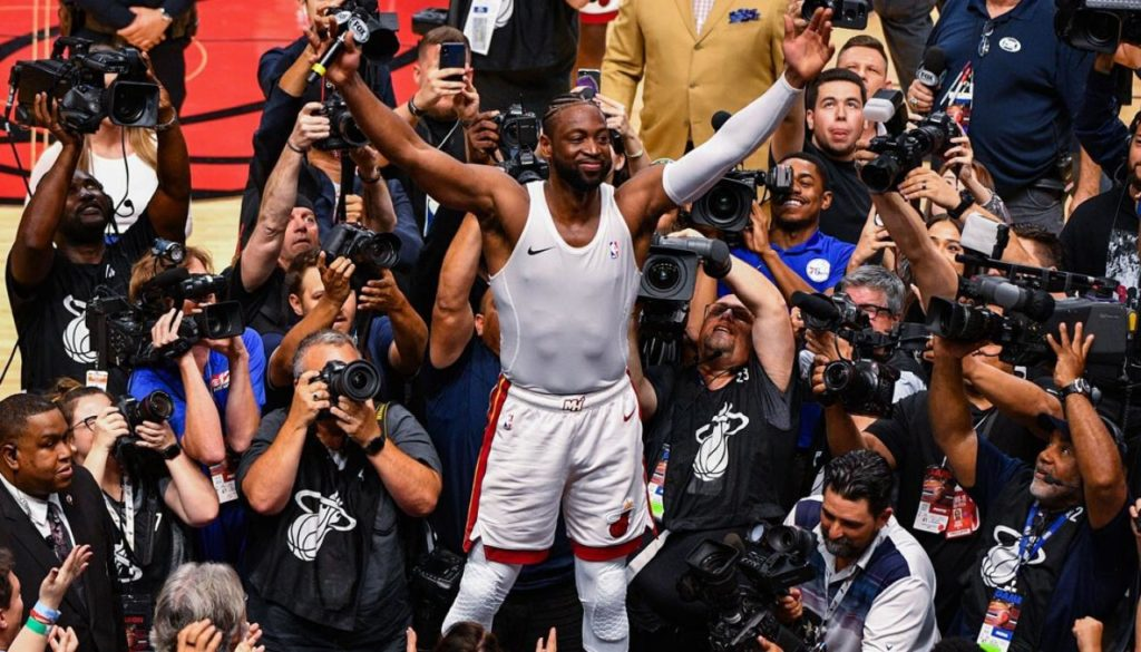 Heat Icon Dwyane Wade Saves One Last Dance For Miami
