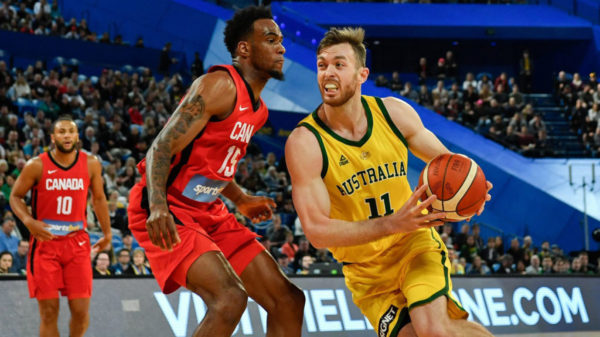 Hot Shooting Australia Boomers Take Down Canada 2019 Fiba World Cup Warm Up Series