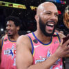 hows this for an all star people common takes home celebrity game mvp in chicago 2020 all star game