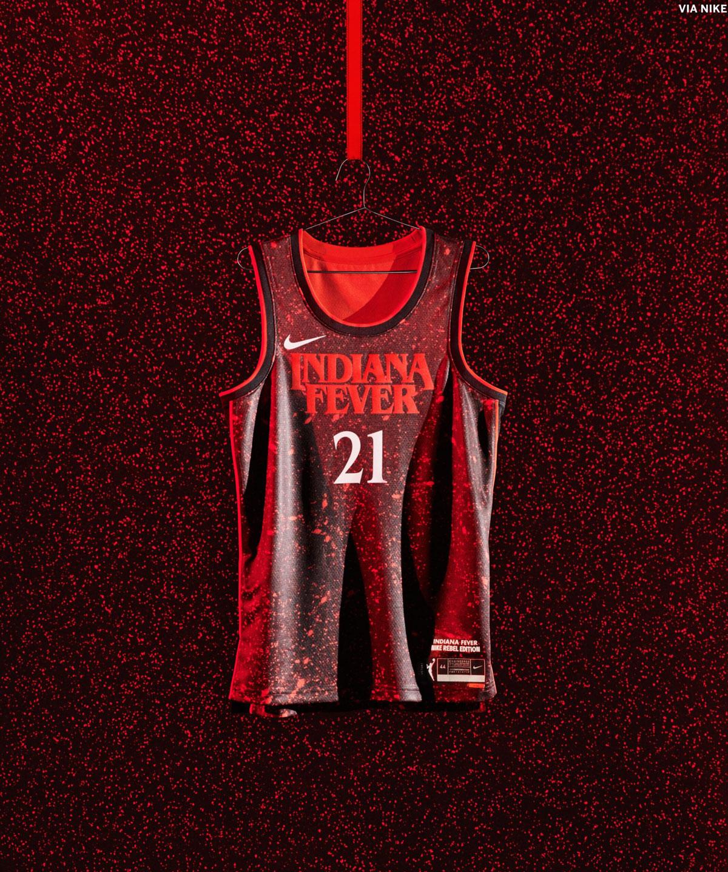 Indiana Fever New 2021 WNBA Jerseys