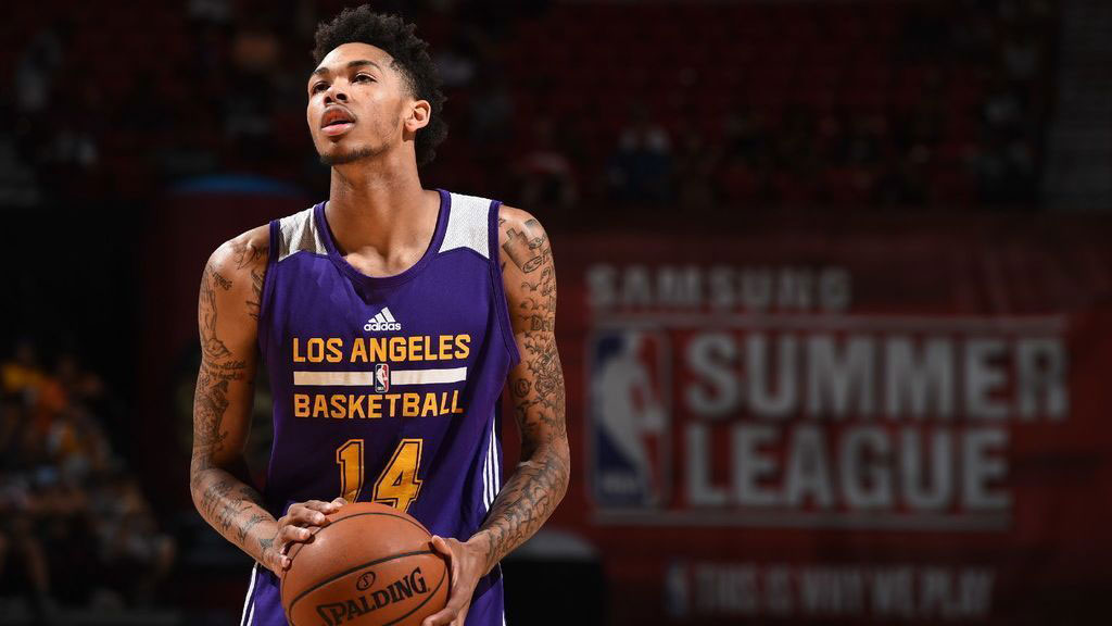 Ingrams Lakers Scorch Simmons Sixers Summer League Match