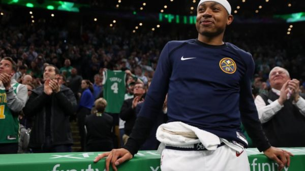 Green & Gold. I.T. Was A Special Moment With Isaiah Thomas Back In Boston