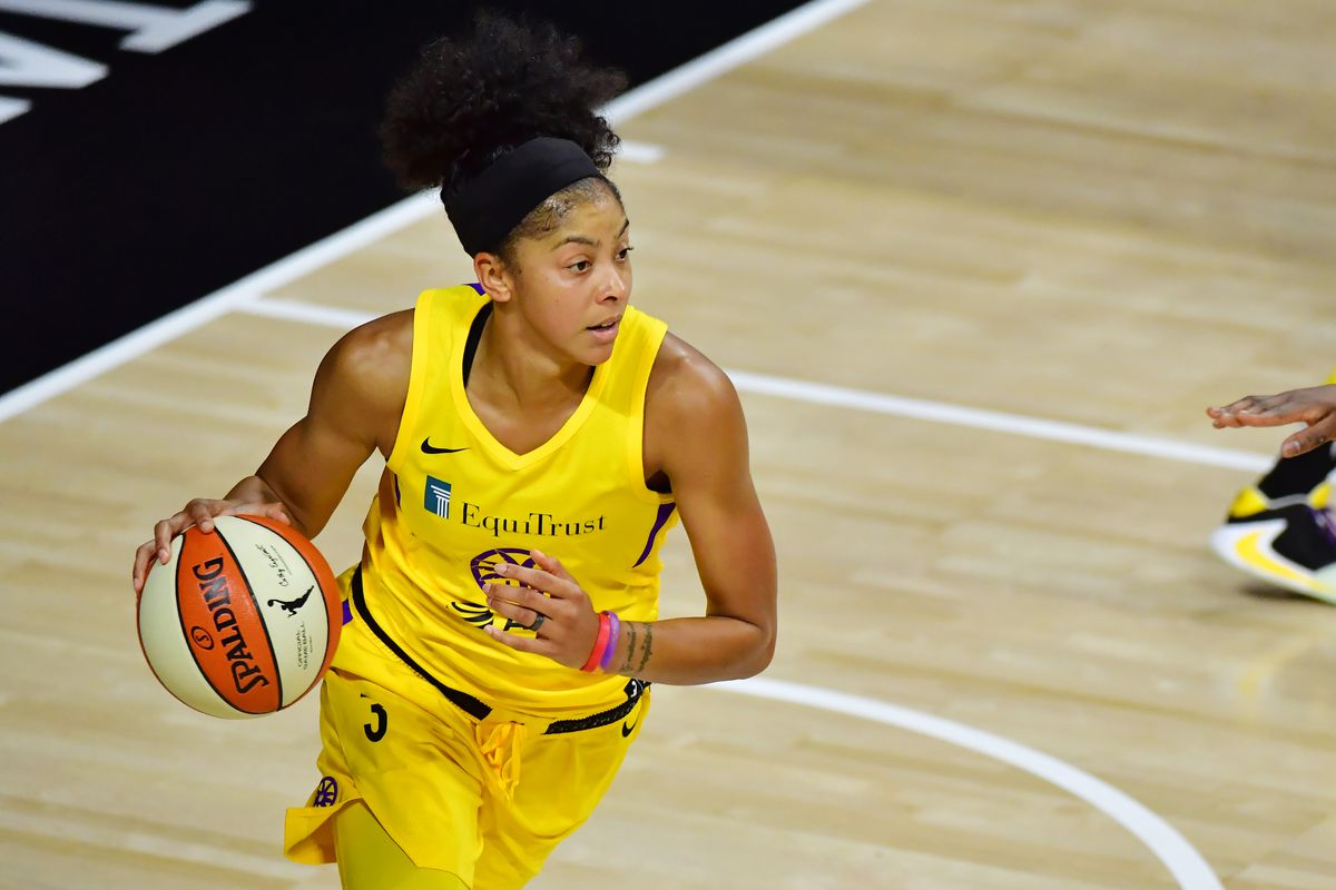 It Was All A Dream. Candace Parker Sparks Los Angeles Over Atlanta In OT