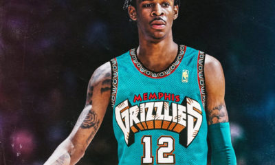 Ja Morant Memphis Grizzlies Throwback Takes Them Back To Vancouver Grizzlies