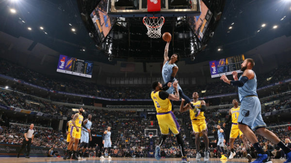 ja morant rules over king james lakers