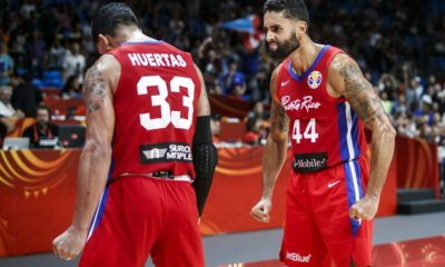 Javier Mojica David Huertas Puerto Rico Beats Iran At The Buzzer To Kick 2019 Fiba World Cup