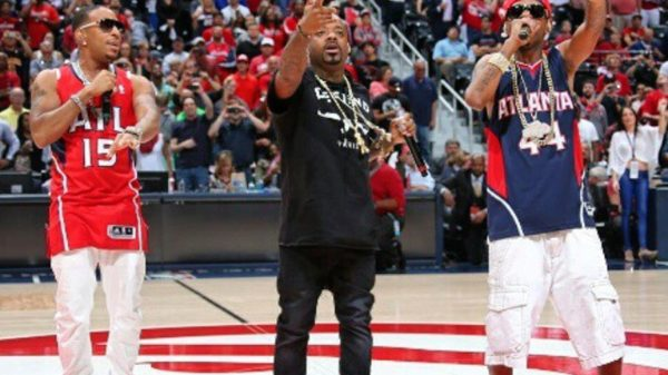 Jermaine Dupri & Ludacris Welcome Atlanta Hawks To The Playoffs