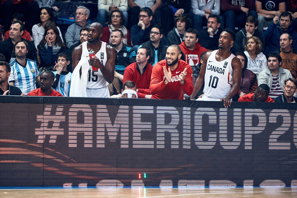 Joel Anthony Canada Basketball 2017 Fiba Americup Basketball