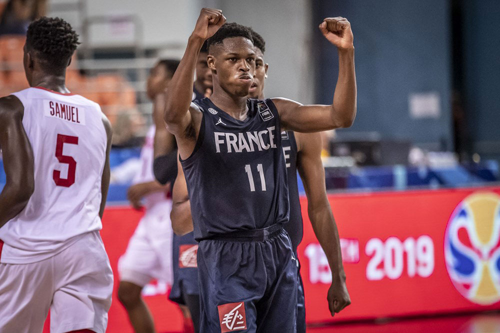 Joel Ayayi France Slips Past Canada At 2019 Fiba U19 World Cup