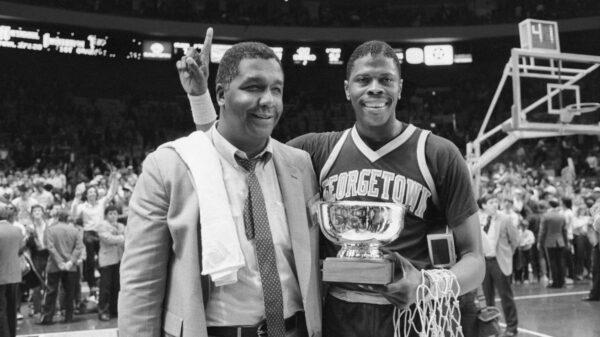john thomson and patrick ewing 1984 ncaa basketball champions