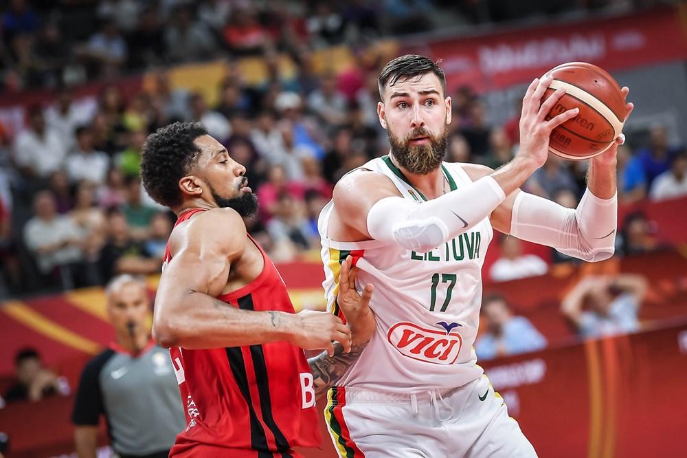 Jonas Valanciunas Lithuania End Canadas 2019 Fiba World Cup Dreams