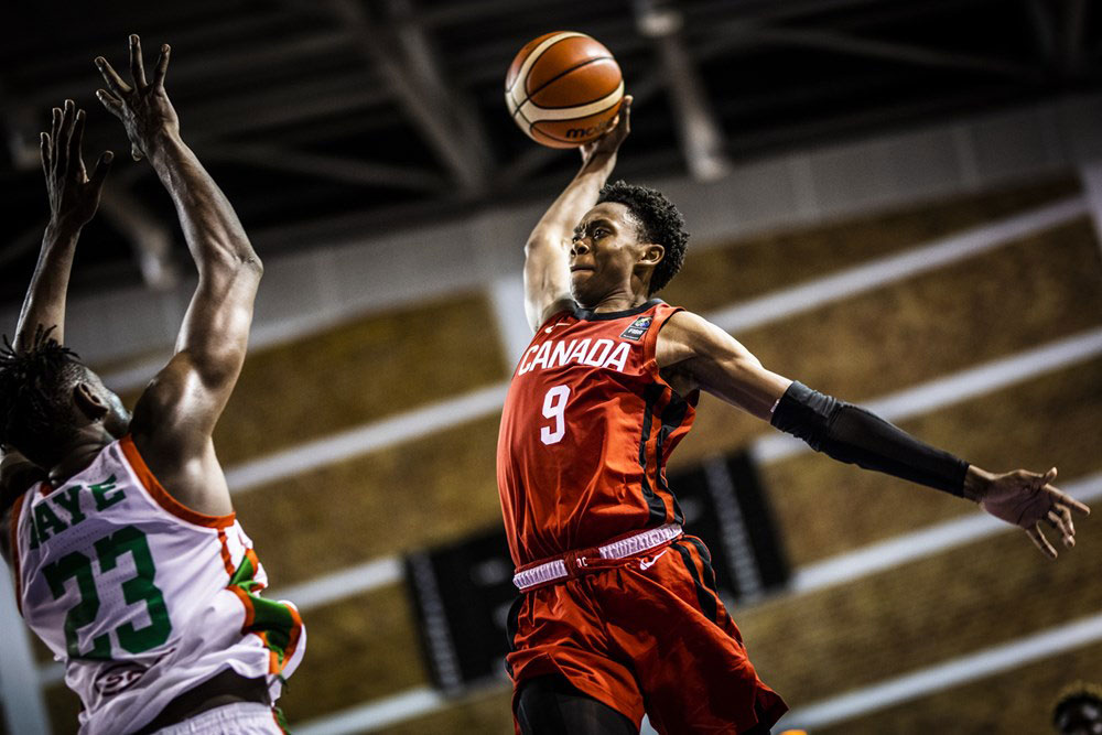 Joshua Primo Canada Beats Senegal 2019 Fiba U19 World Cup