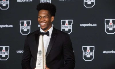 Kadre Gray wins second consecutive U Sports MVP