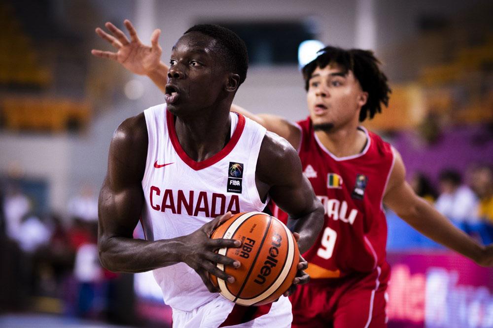 Karim Mane Canada Loses To Mali 2019 Fiba U19 World Cup