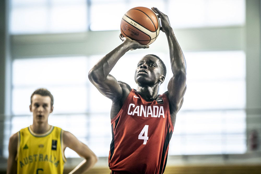 Karim Mane Canada Wins Fiba U19 World Cup Opener Over Australia
