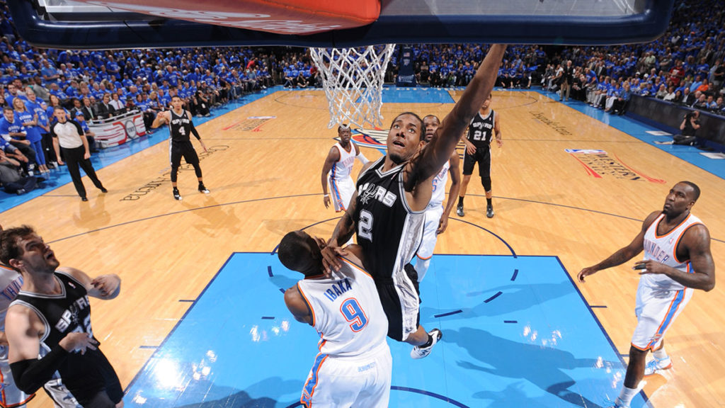 Kawhi Leonard Drops The Hammer On Serge Ibaka